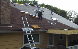 GAF shingle install